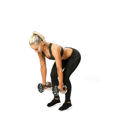 Dumbell Bent Over Row 1