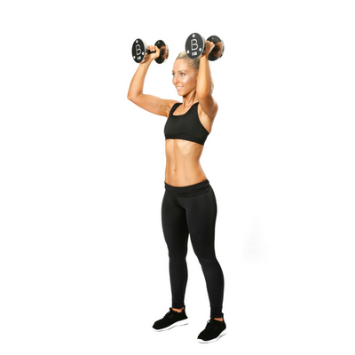 Standing Dumbbell Shoulder Press 2
